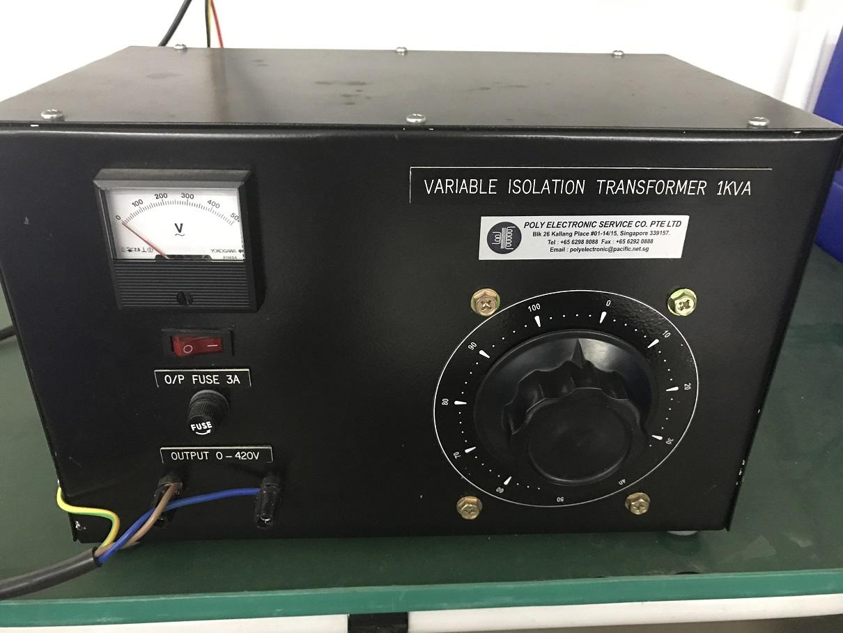 Poly Variable Transformer 1